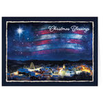 Blessings Across America Christmas Card Set of 20