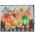 Blessed Harvest Lighted Canvas by Holiday Peak™