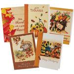 Thanksgiving Card Assortment, Set of 20
