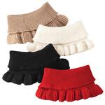 Ruffle Sweater Knit Collar, Set of 4