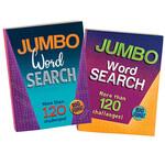 Jumbo Word Search 320-Pg. Books, Set of 2