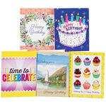 Birthday Card Variety Pack, Set of 20