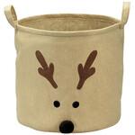 Reindeer Holiday Storage Bin by Holiday Peak™
