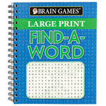 Brain Games™ Large Print Find-A-Word Book
