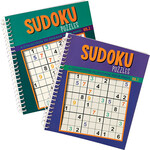 Sudoku Puzzle Spiral Books, Vol. 1 and 2, Set of 2